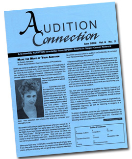 Audition Connection cover