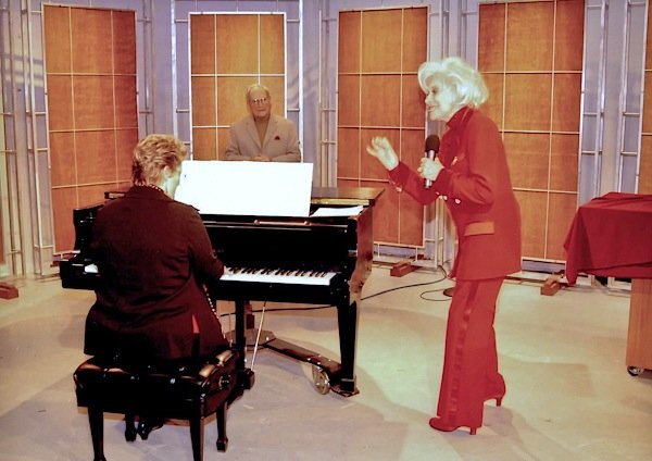 Carol Channing and Susan S. Ashbaker