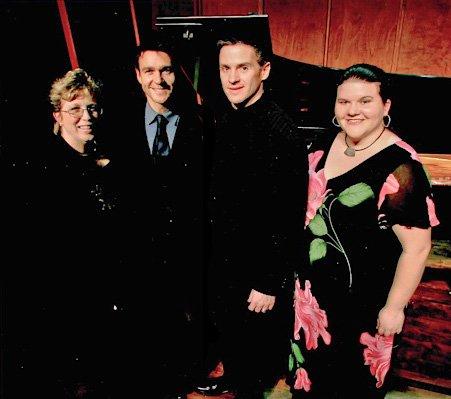 Susan S. Ashbaker, Nathan Gunn, Gordon Gietz and Meredith Arwady