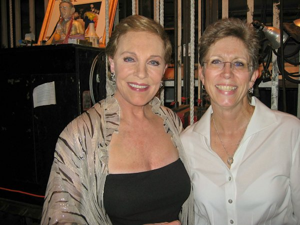 Julie Andrews and Susan S. Ashbaker
