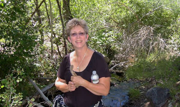 Susan S. Ashbaker – relaxing and hiking in Colorado