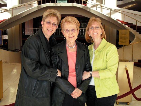 Susan S. Ashbaker, Frances Shiplett and Patti Exstein
