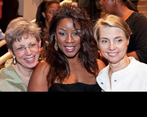 Susan S. Ashbaker, Denyce Graves and Delphine Poussout