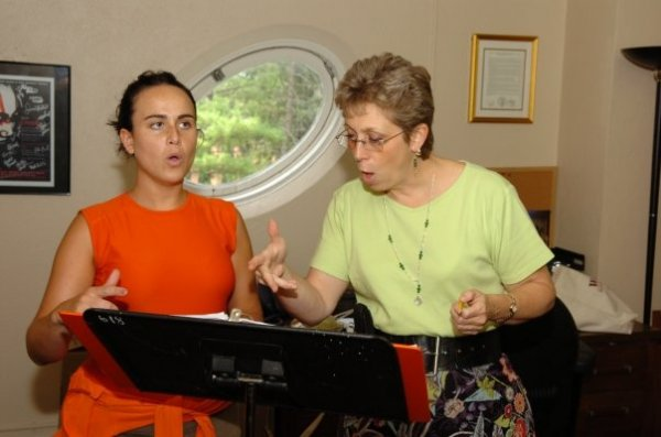 Susan Ashbaker, Master Vocal Coach at the CoOPERAtive Program at Westminster Choir College.